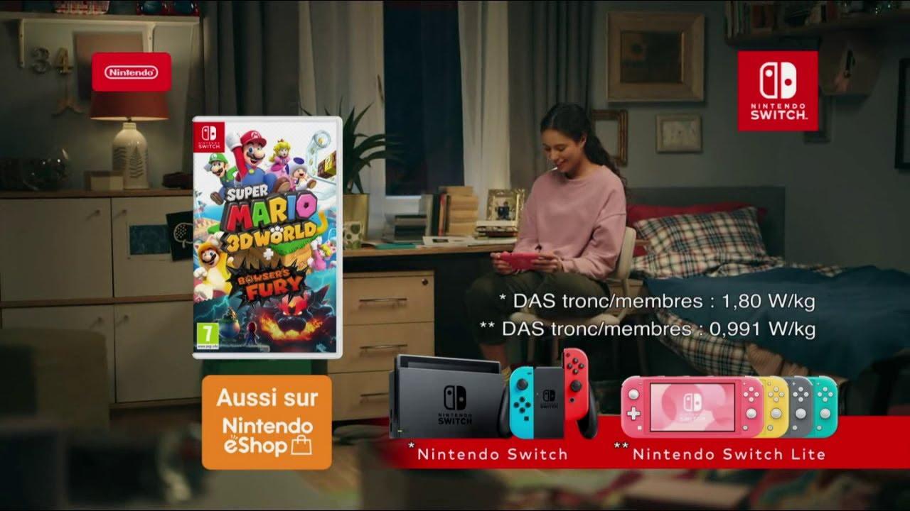 """Musique de la pub Super Mario 3D World + Bowser's Fury Nintendo Switch """"en réseau""""  Mai 2021"""