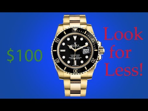 Cheap Rolex! (Look for Less) Watch Under 100 dollars!