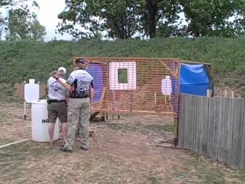 April USPSA Match at NCTA - Robert McDaniel - Stage 2