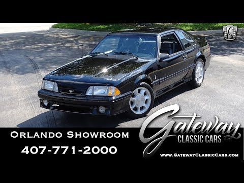 1993 Ford Mustang SVT Cobra Gateway Classic Cars Orlando #1431
