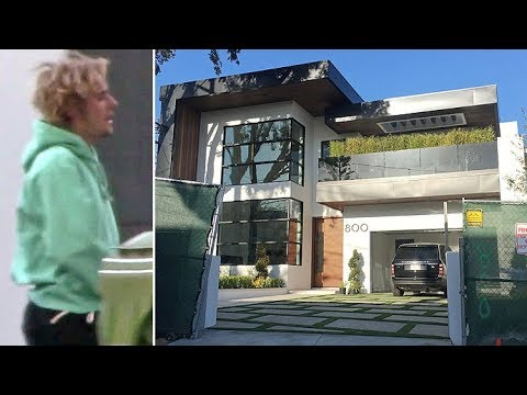 Justin Bieber Goes House-Hunting At $11 Million Luxury Bachelor Pad ...