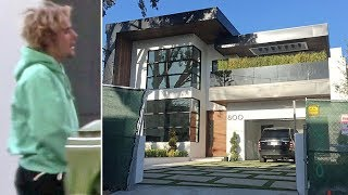 connectYoutube - Justin Bieber Goes House-Hunting At $11 Million Luxury Bachelor Pad In Brentwood