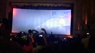Viswasam FDFS - Before film starts : Nellai Ram Cinemas