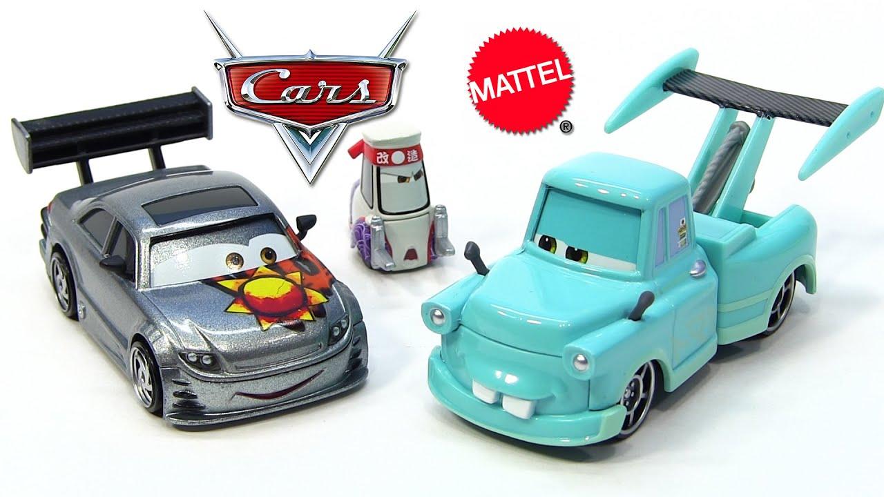 2014 Disney Pixar Cars Toon Tokyo Mater Die-Cast Cars 3