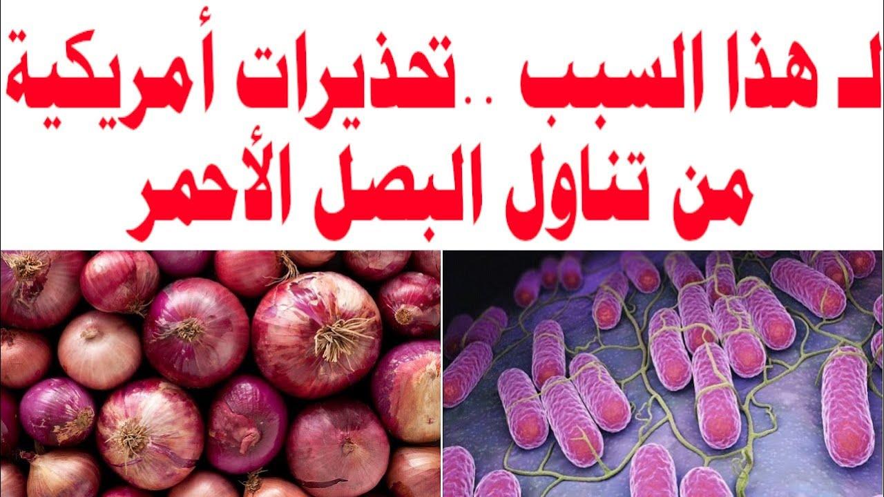 لـ هذا السبب تحذيرات أمريكية من تناول البصل الأحمر