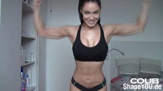 BEST COUB #26 FIT&MUSCLE GIRLS