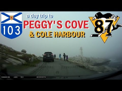 Time Lapse: Halifax to Peggy's Cove and Cole Harbour, Nova Scotia