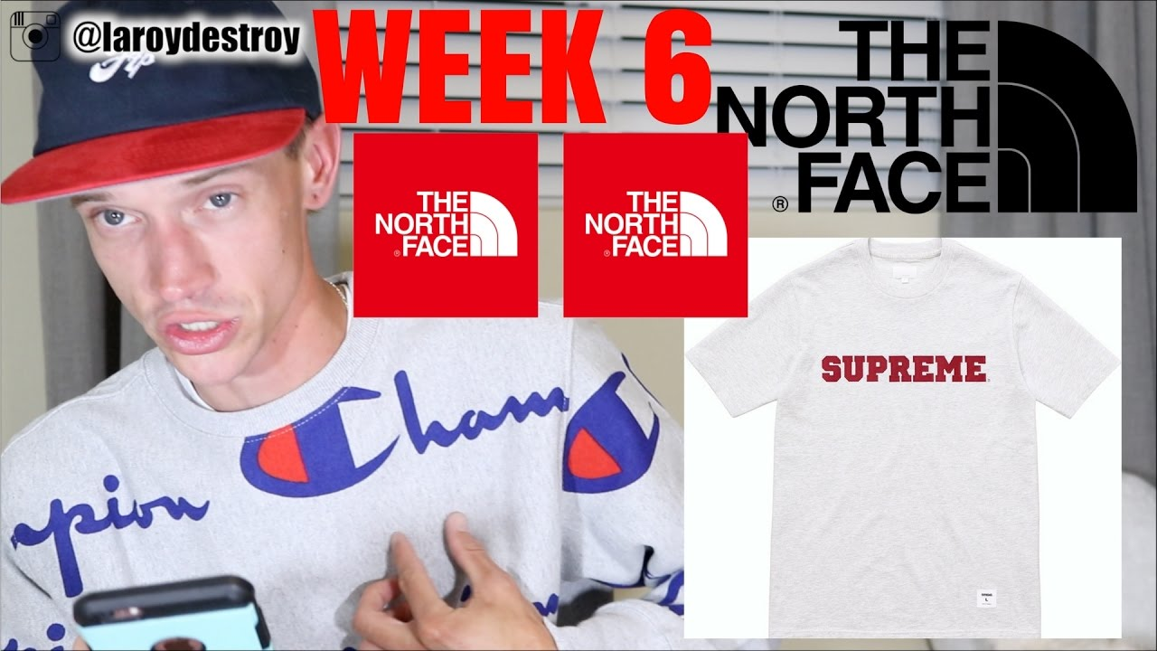 Download SUPREME WEEK 6 DROP LIST/PREVIEW. THE NORTH FACE + MORE HEAT! DROPPING TOMORROW