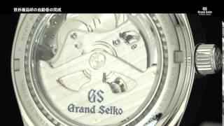 Grand Seiko SPRING DRIVE 10th ANNIVERSARY グランドセイコー スプリングドライブ 10周年記念 thumbnail
