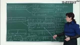 Подготовка к ЕНТ: Группа существительных по значению (конкретные и отвлечённые, вещественные)