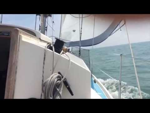 Sailing on the North Sea with a Westerly Centaur (long version)