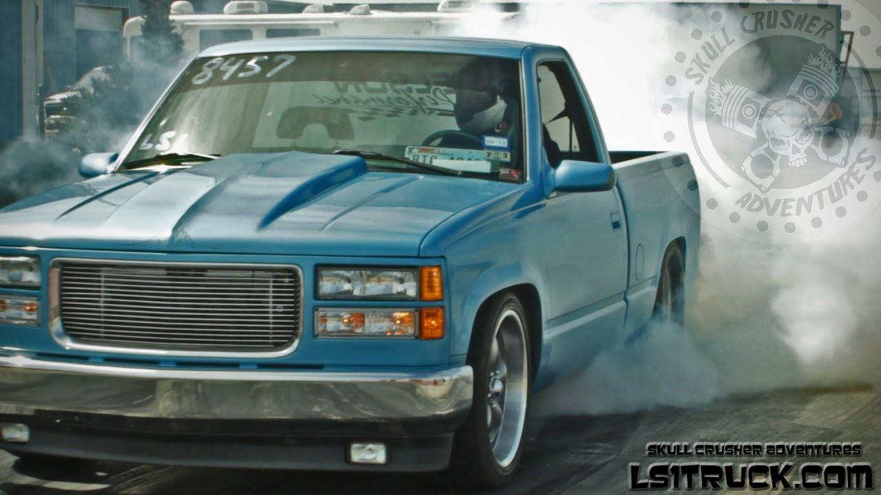 lil blue a custom twin turbo 408ci powered chevy sleeper ls1truck com shoot out 2013 [ 1280 x 720 Pixel ]