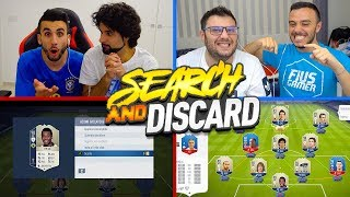😱 SEARCH & DISCARD FULL ICON! w/ FIUS GAMER e TONY TUBO! 😭
