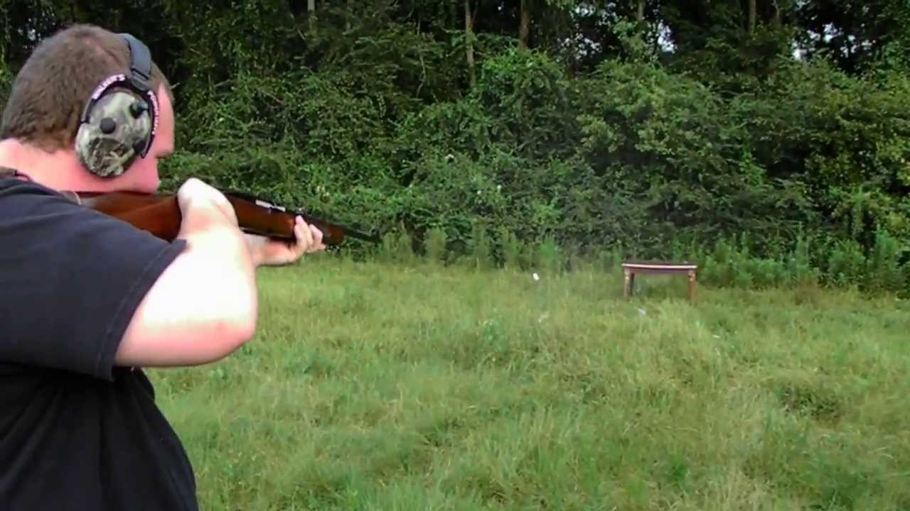 winchester model 100 308 semi auto try out youtube