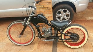 Bike Chopper motorizada 80cc