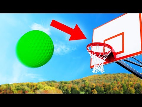 CAN YOU DUNK THE GOLFBALL?! (Golf With Friends) |