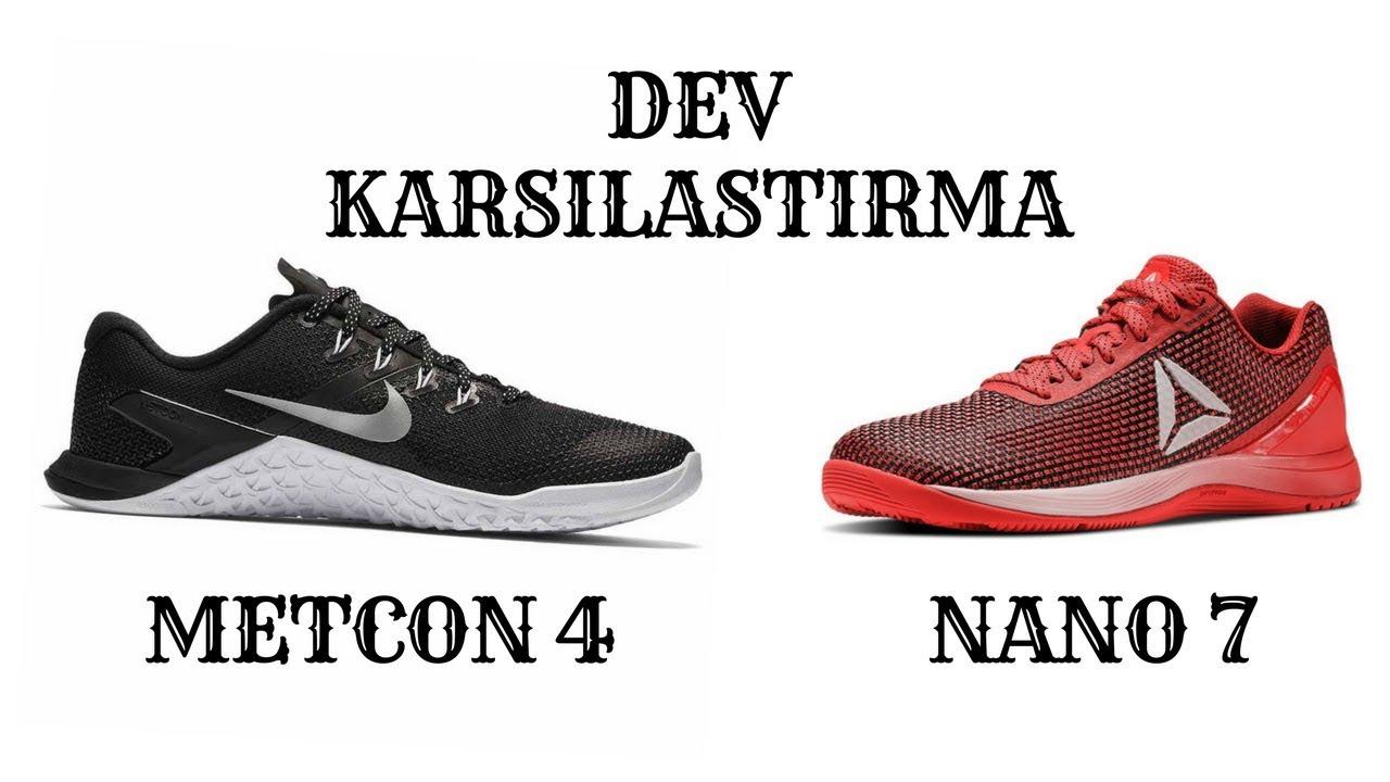b06ab85dd487 Nike Metcon 4 vs Reebok Nano 7... İsyan dolu bir karşılaştırma - YouTube