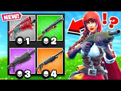 GUN GAME *NEW* Shotgun Game Mode in Fortnite Battle Royale