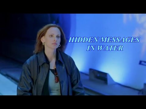 HIDDEN MESSAGES IN WATER ~ Dr Masaru Emoto - YouTube