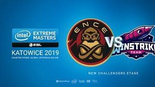 ENCE vs Winstrike - IEM Season XIII - Katowice Major 2019 - map3 - de_train [Anishared & Gromjkeee]