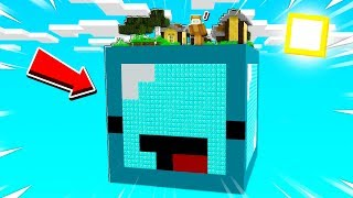SURVIVING ON A GIANT SKEPPY in MINECRAFT!