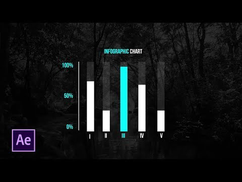 Create Bar Infographics with Controls | After Effects Motion Graphic Tutorial