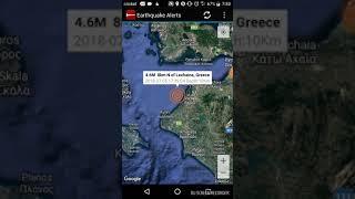 Lechaina, Greece Earthquake July 5th, 2018