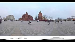 Moscow 360 degree VR video