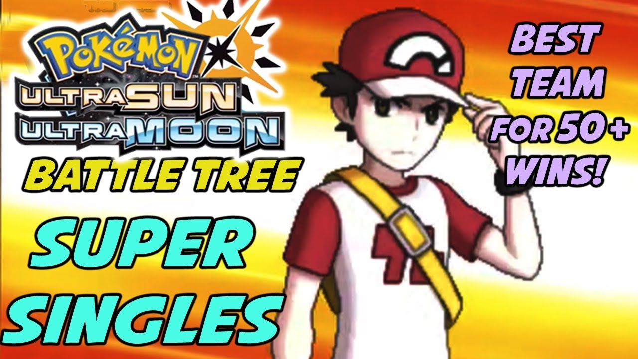 Best Pokemon to Use in Battle Tree Super Singles! - Pokemon Sun and Moon  Battle Tree Team Guide