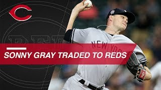 Gray traded to Reds