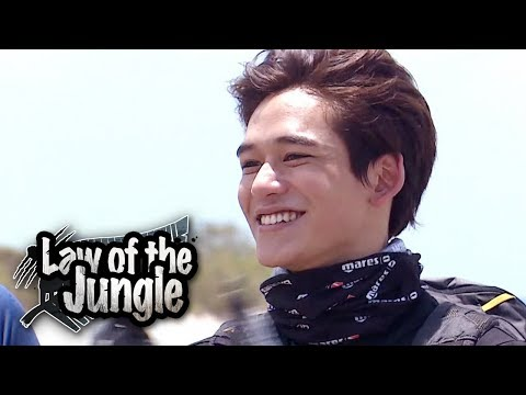 Lucas Im confident! Ill adapt to the jungle!! Law of the Jungle Ep 338
