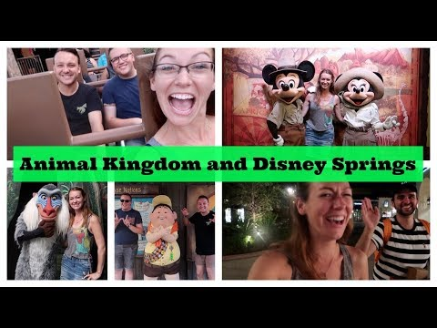 Animal Kingdom - Rafiki's Planet Watch plus Disney Springs for a Blaze and Sprinkles