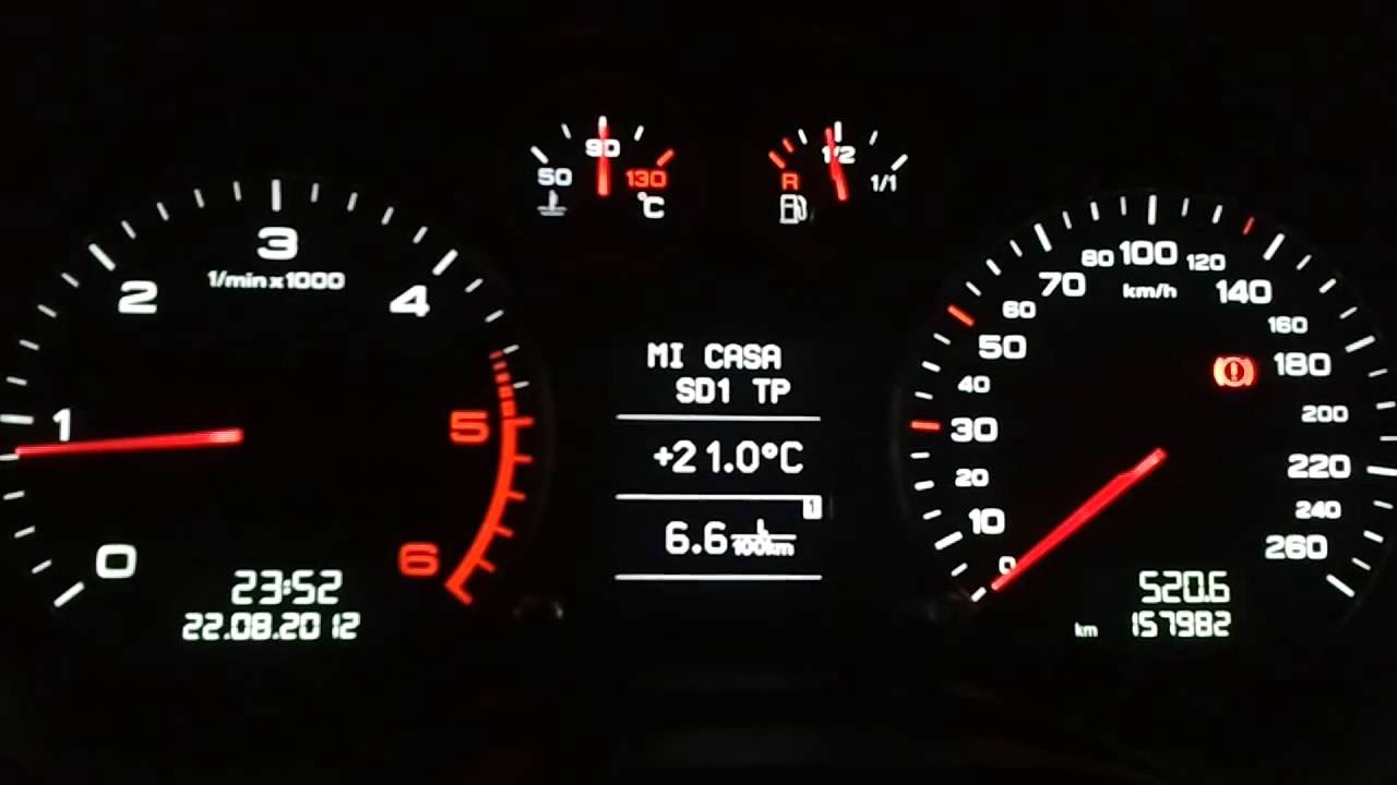White Cluster Audi A3 Tdi With Software Rs3 Nuno Prata Thewikihow