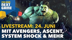 React Now, The Ascent, Surgeon Simulator 2, Marvel's Avengers, MechWarrior 5 & System Shock - FYNG