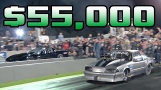 $55,000 Drag Race!!!