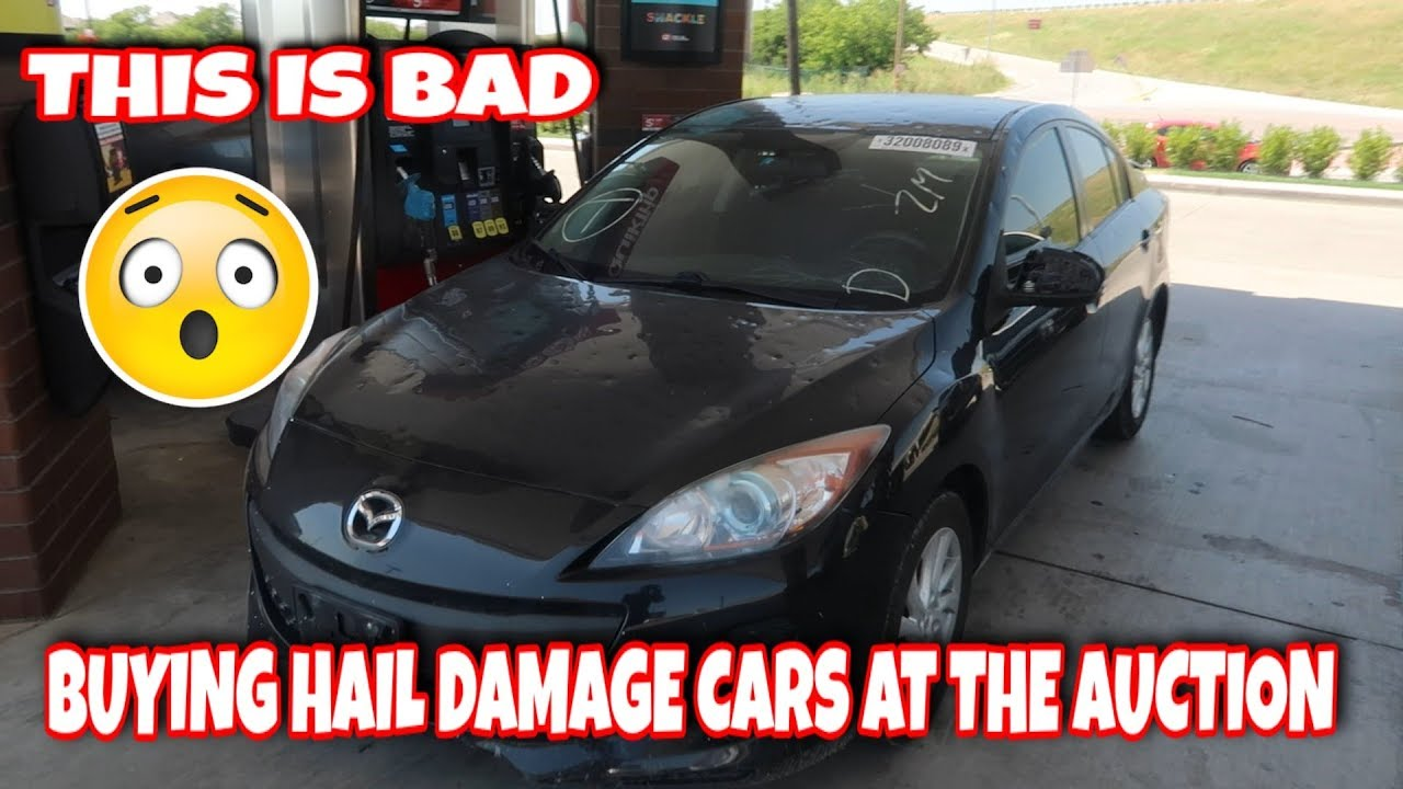 Buying A Car With Hail Damage >> Buying Hail Damage Cars At The Auction 1