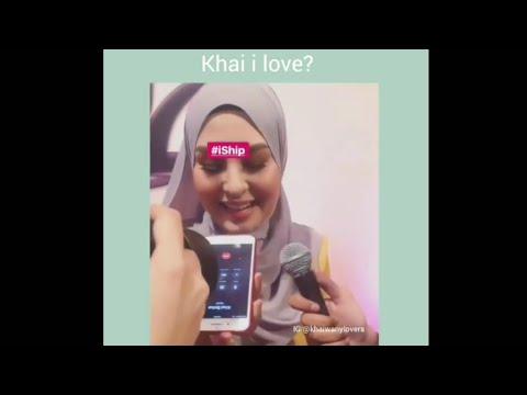 Kantoi! Wany Hasrita Ucapkan 'I Love U' Kepada Khai Bahar Depan Wartawan!