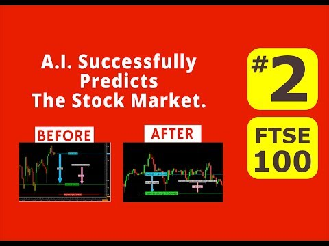 Artificial Intelligence Trading - FTSE100  - Nov 21st  to 28th, 2017. #2 - Before & After