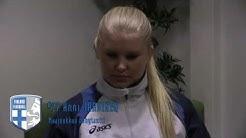 Team Finland WU19 - Henkilökuvassa Anni Järvinen