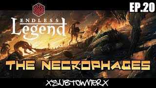 Endless Legend - Necrophages Gameplay [P20] - Dwindling Red Armies