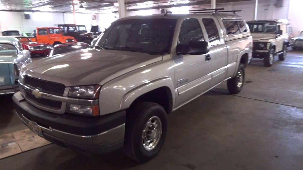 2004 chevrolet silverado 2500hd 4wd duramax for sale youtube. Black Bedroom Furniture Sets. Home Design Ideas