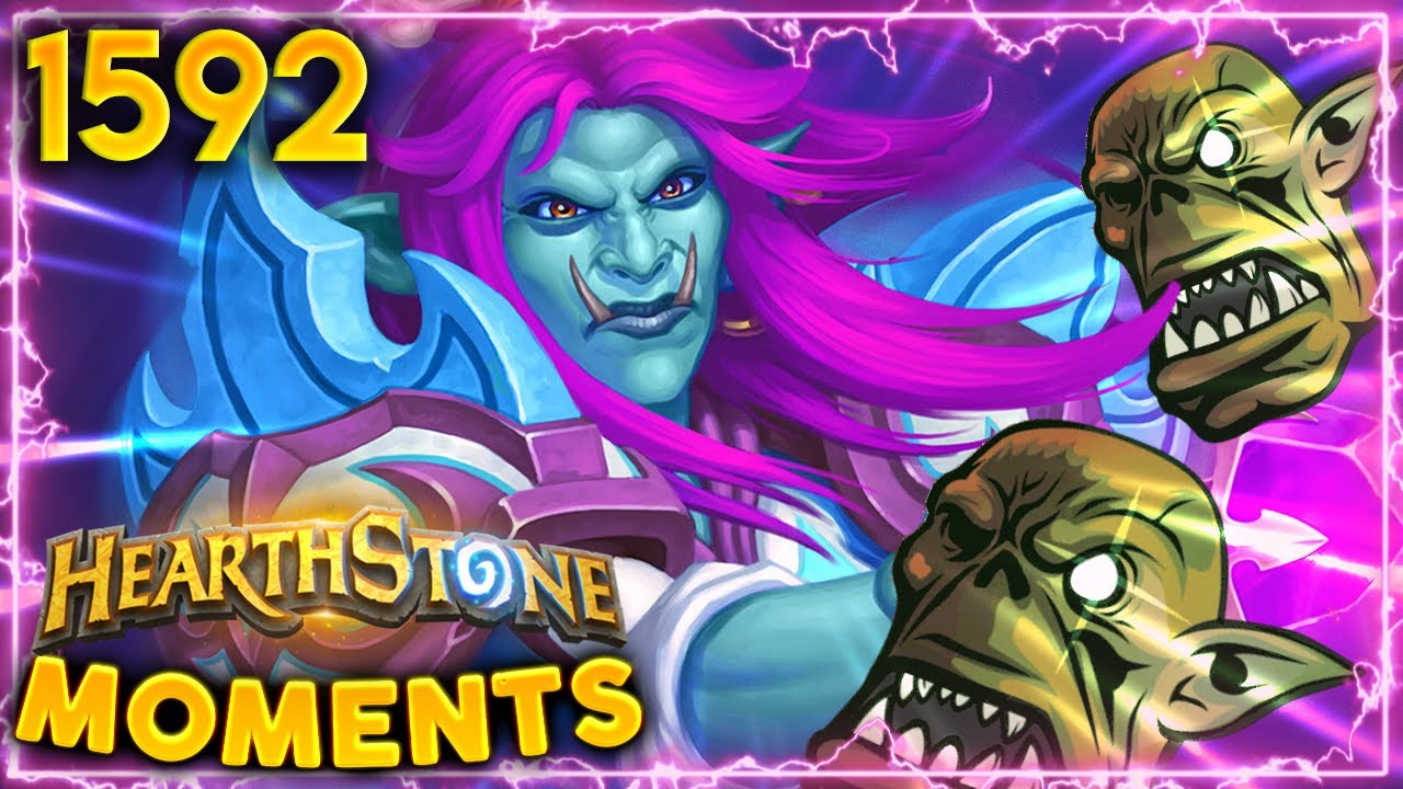 ME LIKE SMORC, MINION GO FACE | Hearthstone Daily Moments Ep.1592