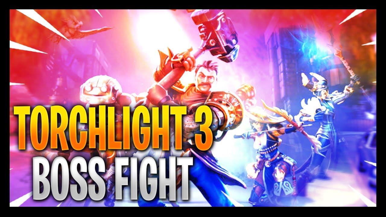 Torchlight 3 - Crash Course/Boss Fight: Secret Weapon - #torchlight3