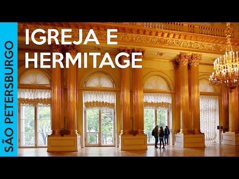 Museu Hermitage e Igreja do Sangue Derramado | SÃO PETERSBURGO, RÚSSIA (Vlog 3)