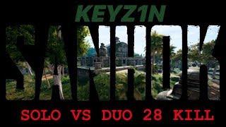 28 KILLS!! SOLO VS DUO PUBG Mobile Gameplay