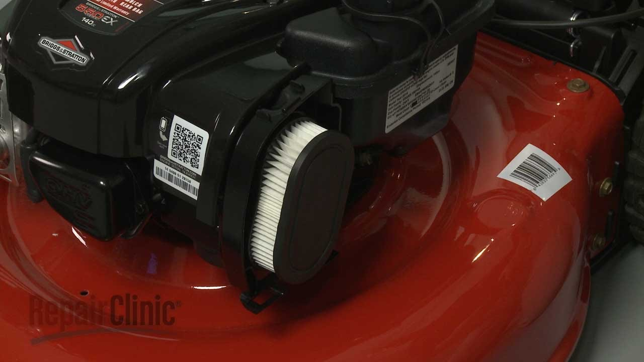 Briggs Stratton Small Engine Air Filter Replacement 798452 Youtube