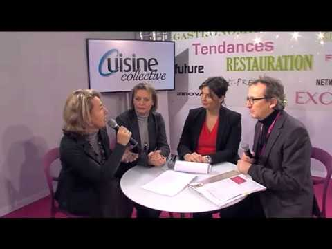 Interview de Sandrine Raffin au Sirha