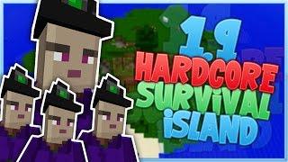 I HATE WITCHES! - Minecraft 1.9 Hardcore Survival Island [2]