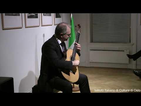 Bella Italia! Concerto per chitarra classica di Vito Nicola Paradiso