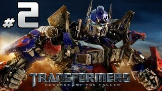 Transformers Revenge Of The Fallen - Autobot Campaign - Part 2 - Sideswipe Vs. Sideways